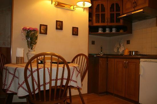 Sherborne ApartHotel: la cucina