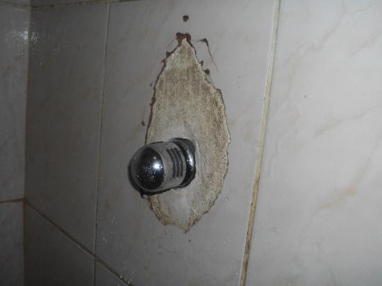 Che Lagarto Hostel Ilha Grande: azulejos do banheiro