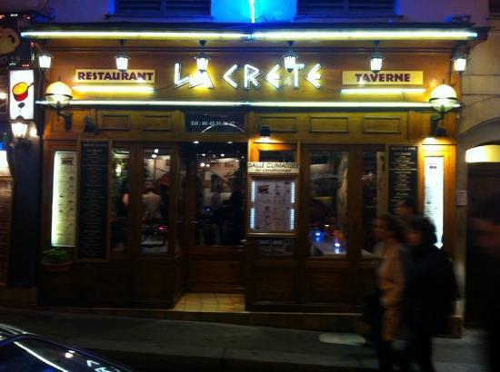 La Crete, Paris - Quartier Latin - Restaurant Reviews, Phone ...