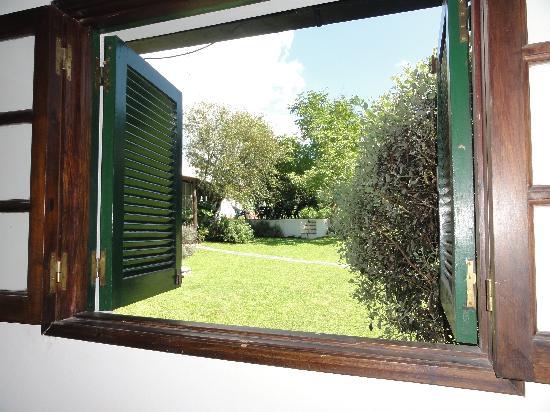Casa Hernandez: Kamer met uitzicht op tuin