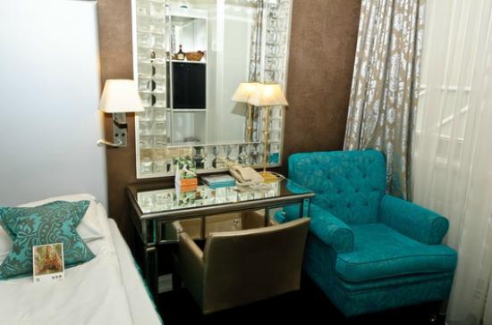 Clarion Collection Hotel Bastion: Unser Zimmer - klein aber fein