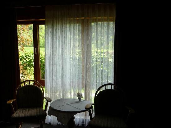 Pension Hubertus: ausblick