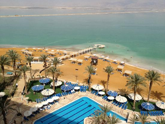 Ein Bokek, Ισραήλ: Dead Sea view from the room