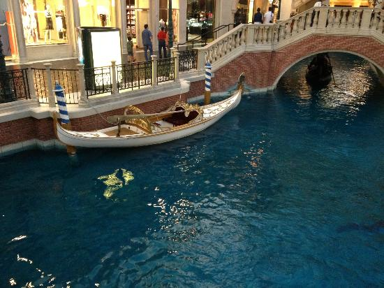 The Venetian Las Vegas Wedding Gondola