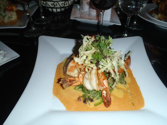 Mario's Bistro: Shrimp and Pumpkin Risotto