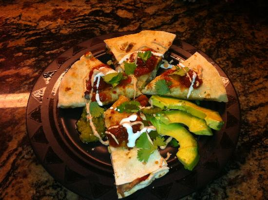Jane Butel Cooking School: homemade quesadillas