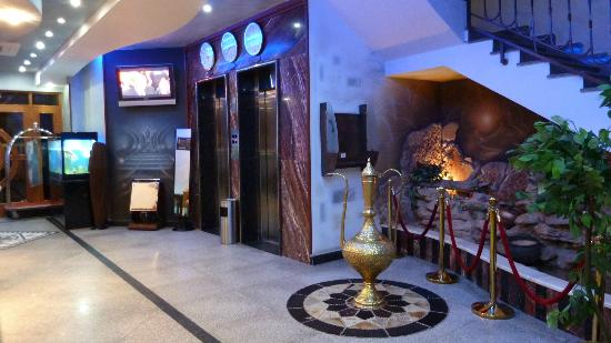 Alokhowa Hotel: entrance hall