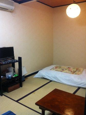 Rickshaw Inn: Japanese style single room with shared bath