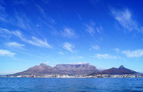 Sør-Afrika: Cape Town and Table Mountain