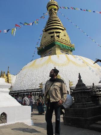 Hotel Blue Horizon: Swayambhunath Temple - February 2012