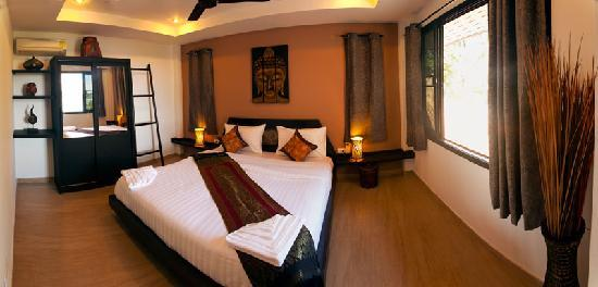 Koh Tao Heights Boutique Villas: Stunning Bedding