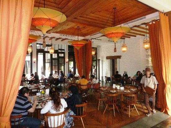 Seribu Rasa: Interior setting at the main eating area