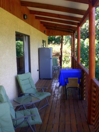 Chez Steve Residencia Kyle Mio: Terraza