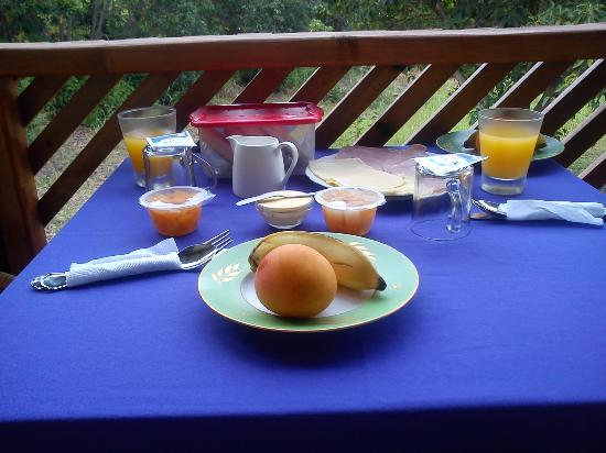 Chez Steve Residencia Kyle Mio: Graaaaan desayuno