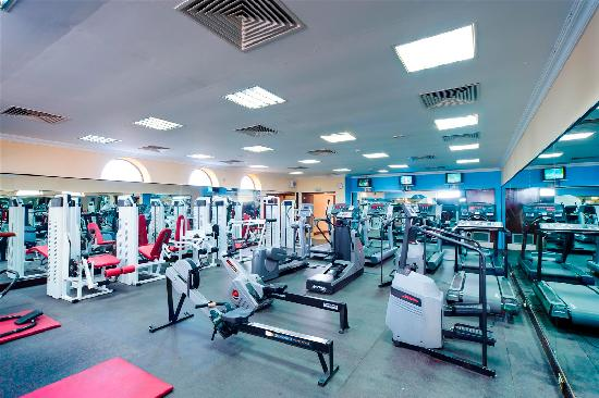 Al falaj hotel muscat oman gym picture of