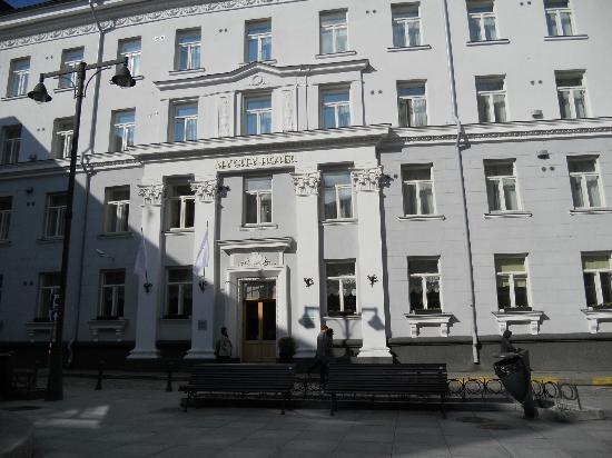 My City Hotel Tallinn: Hovedfasade