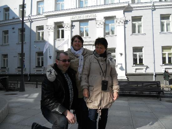 My City Hotel Tallinn: Reiselederne for gruppen på 15 pers.