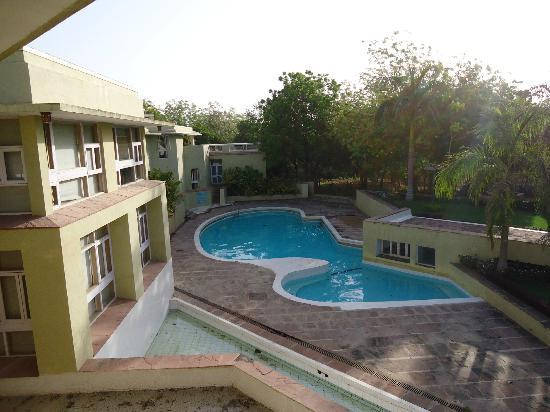 Gandhinagar, Indien: View of the resort