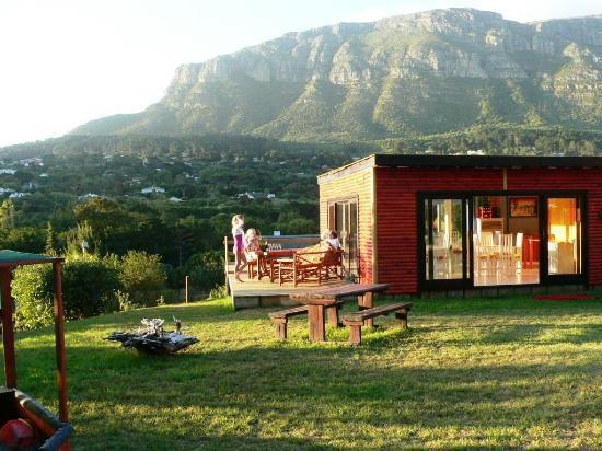African Family Farm: Frühstücksraum mit Aussicht