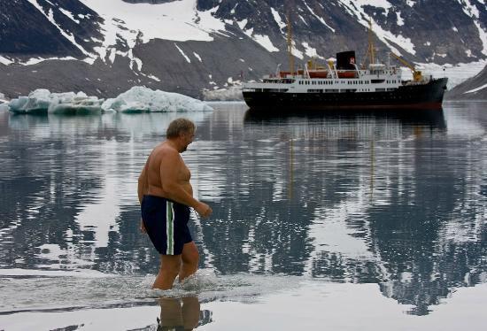 Magdalena Bay: Magdalenefjorden - Svalbard 79,6 degrees parallels