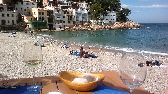 Hostal Sa Tuna: Vistas desde la mesa