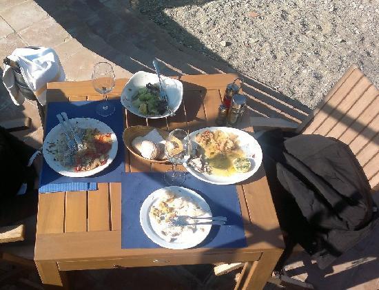 Comida en Hostal Sa Tuna