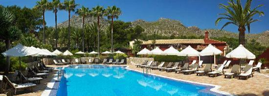 Hotel Cala Sant Vicenc: Piscina