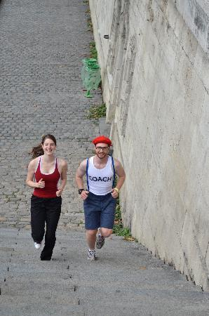 Wellicient: Quais de seine running tour Paris