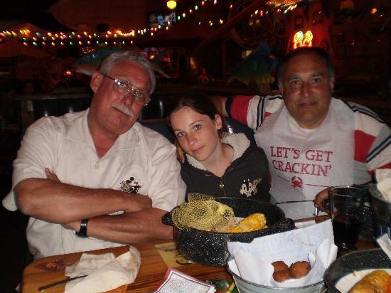 Joe's Crab Shack: stremati dalla grande mangiata