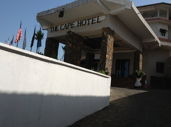 The Cape Hotel Another Frontal  View