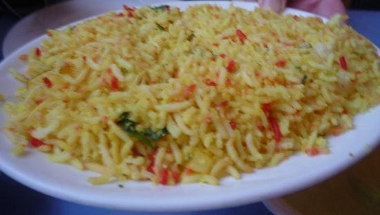 The Days of the Raj: COCONUT RICE