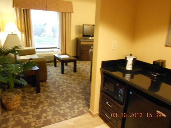 Hampton Inn and Suites Knoxville North: Sitting Area