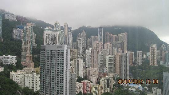 Island Shangri-La Hong Kong: view from room 4117