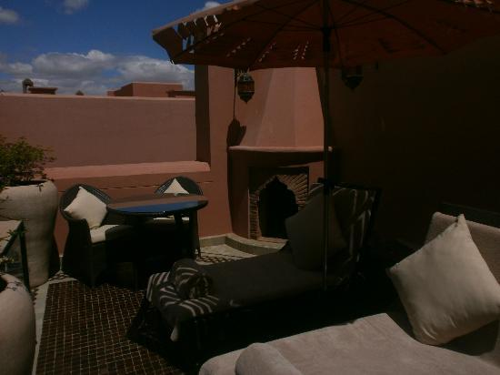 Royal Mansour Marrakech : roof top pool