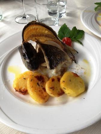 Passignano Sul Trasimeno, Italy: Un piatto