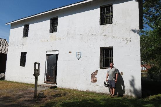 Beaufort Historic Site Visitor Center and Museum: jail