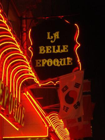 La Belle Epoque Paris Opera Bourse Restaurant