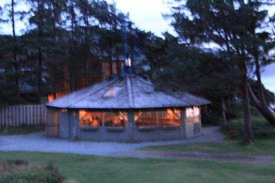Pacific Sands Beach Resort Gazebo With Fire Pit BBQs Picnic Tables