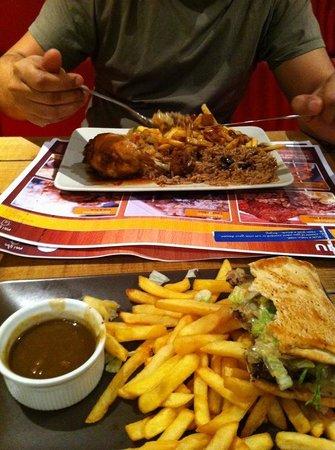 Mish: amazing burger!