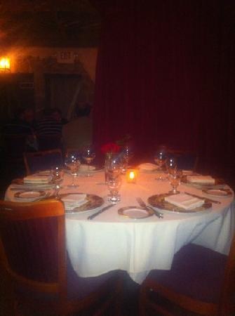 Kali's Court: beautiful dining area