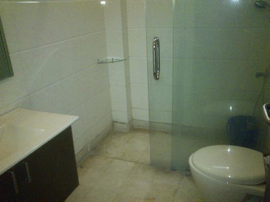 Hotel Vista Inn: This is neat and clean Bathroom