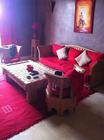 Le Domaine de L'Ourika: Suite lounge