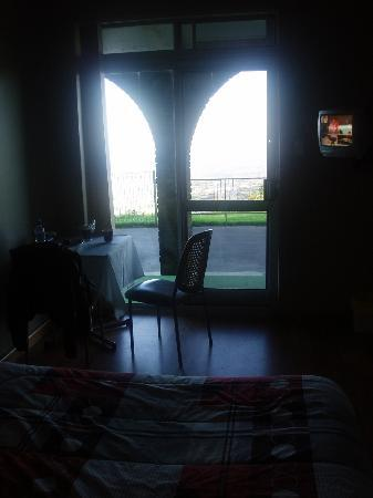 Panorama House: From the bedroom looking out !