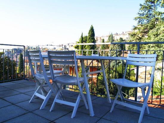 Villa Rina: roof terrace