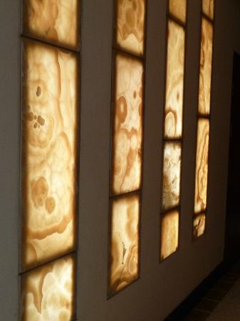The Manor: agate panels