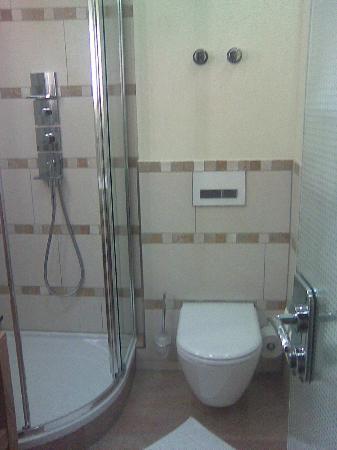Hotel Sackmann: Einzelzimmer Bad