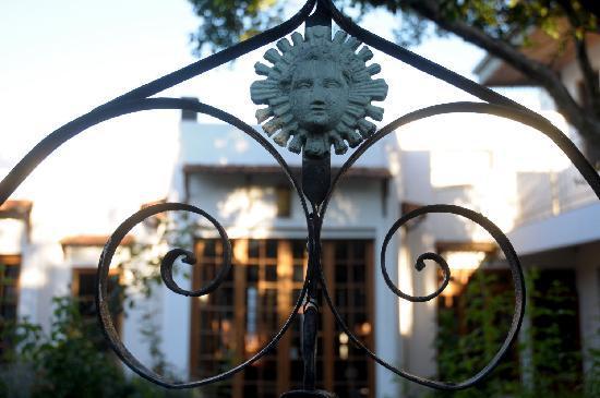Art Hotel Deco: garden
