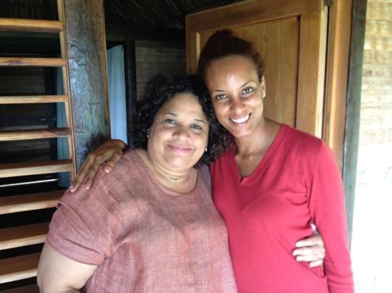 Tubagua Plantation Eco Lodge: With Beatriz, Tim's wife, an exceptional human being