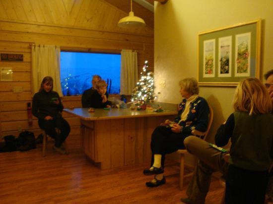 Sheep Mountain Lodge : Inside the cabin