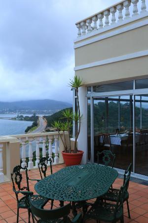 Bradach Manor: view from balcony